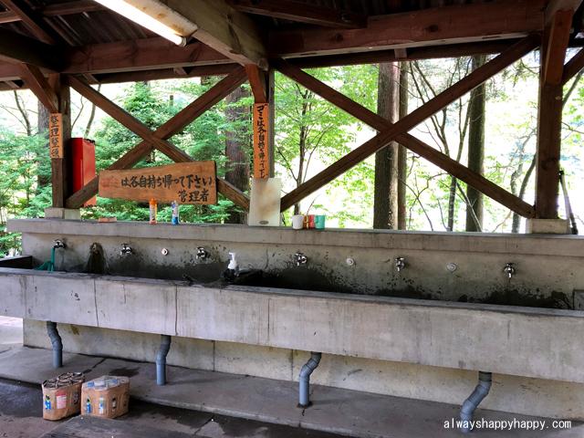 真名子木の香ランドキャンプ場 炊事