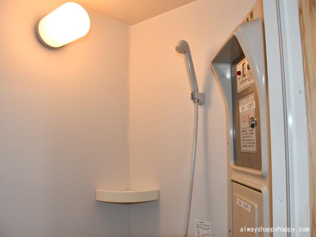真名子木の香ランドキャンプ場 シャワー