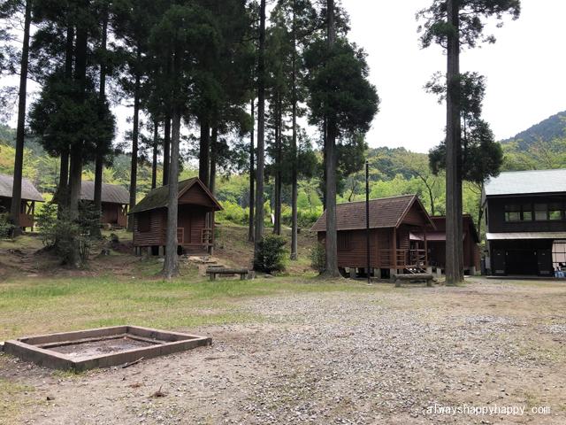 真名子木の香ランドキャンプ場 キャンプファイヤー
